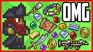 Download Loot From 10 Hours of Pirate Invasions In Terraria Video