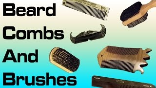 Download Beard Combs and Brushes AND A SANDLEWOOD FISH COMB!? Video