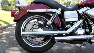 Download 2009 Dyna Low Rider Stock Pipes vs Vance & Hines Straightshot Slip-Ons Video