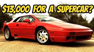 Download The Lotus Esprit is the Last Affordable Exotic Car Video