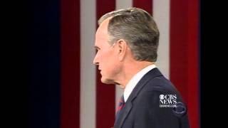 Download Famous debate moment: Bush, Sr. checks his watch in 1992 Video