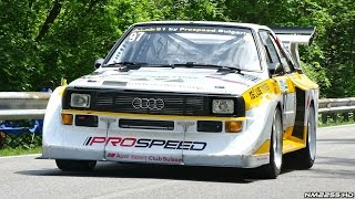 Download 770HP Audi S1 Quattro Hillclimb by Prospeed AMAZING Sounds! Video