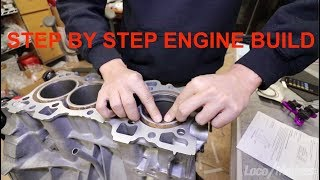 Download 500HP CHINA BUILD : Detailed B Series Engine Assembly B18C1- Ep4 Video