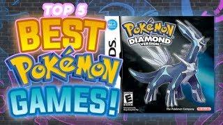 Download Top 5 BEST Pokemon Games Video