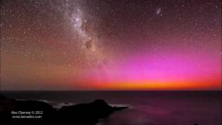 Download Red Aurora Australis Video