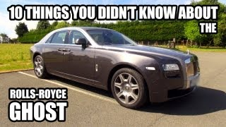 Download 10 Things You Didn't Know About The Rolls-Royce Ghost Video