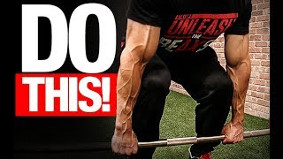 Download The Official Deadlift Checklist (AVOID MISTAKES!) Video