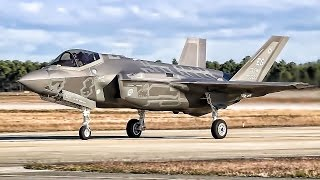 Download F-35A Lightning II Fighter Jets Takeoff At Tyndall AFB Video