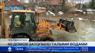 Download 40 домов затопило талыми водами в Восточном Казахстане Video