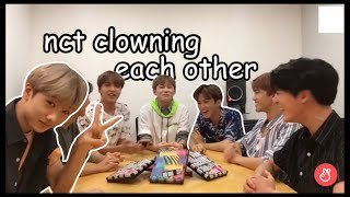 Download nct clowning each other Video