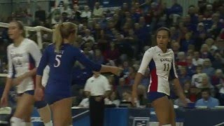 Download KU Volleyball's ″Silent Assasin″ - Ainise Havili Video