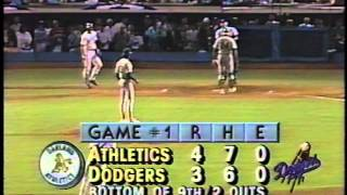 Download Kirk Gibson's 1988 World Series historic home run-bottom of the 9th Video