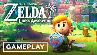 Download Link's Awakening Remake Gameplay: 9 Minutes of the Tail Cave Dungeon - E3 2019 Video