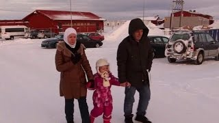 Download Refugees in Norway fear being returned to Russia Video