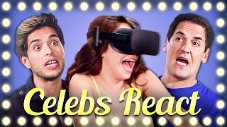 Download CELEBS REACT TO VR | DON'T LET GO!!! Video