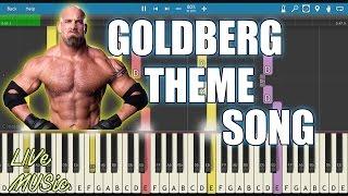 Download Goldberg | Wwe | Theme | Cover | Instrumental | Midi | Tutorial | Live Music | Video