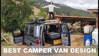 Download My Student Has The Sickest Custom Camper Van I Have Ever Seen! | Coachmen Econoline 150 Custom Build Video