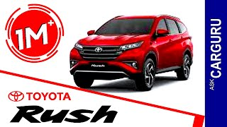 Download Toyota Rush, CARGURU, हिन्दी में, Engine, Interior, price, Launching Date & All Details Video