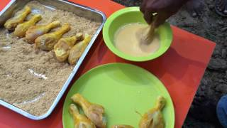 Download VFC (Village Fried Chicken) - Cooking Crispy Fried Chicken Legs with Natural Ingredients Video