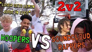 Download Hoopers VS SoundCloud Rappers! 2v2 Video