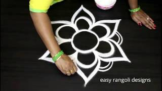 Download Beautiful free hand special kolam arts || easy rangoli designs || new muggulu patterns Video