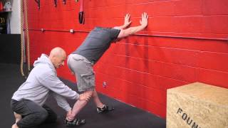 Download Ankle Soleus stretch Video