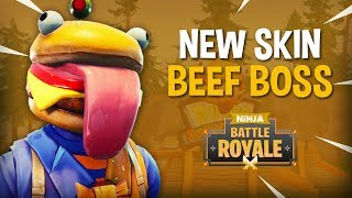 Download *NEW* Beef Boss Skin!! - Fortnite Battle Royale Gameplay - Ninja Video
