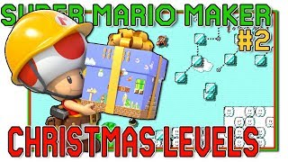 Download YOUR CHRISTMAS LEVELS! - Super Mario Maker - #2 Video