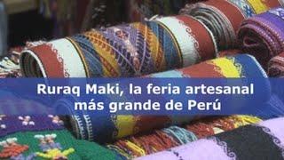 Download Ruraq Maki, la feria artesanal más grande de Perú Video