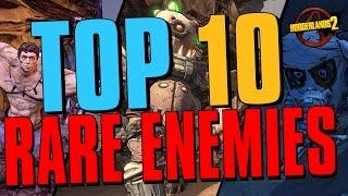 Download TOP 10 RAREST ENEMIES IN BORDERLANDS 2 #Borderlands Video