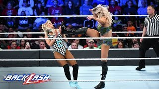 Download Charlotte brings a relentless offense against Carmella: WWE Backlash 2018 (WWE Network Exclusive) Video
