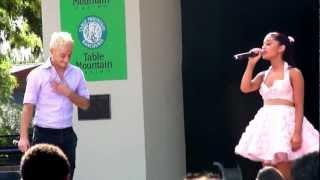 Download Ariana Grande & Frankie Grande Suddenly Frankie Fresno Fair 10-13-12 Video