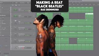 Download Making A Beat: Rae Sremmurd ft. Gucci Mane - Black Beatles (Remake) Video