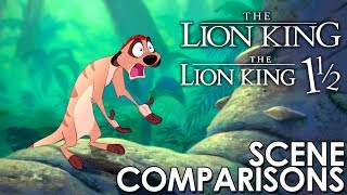 Download The Lion King (1994) and The Lion King 1½ (2004) - scene comparisons Video