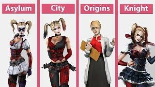 Download Batman Arkham – Asylum vs. City vs. Origins vs. Knight on PC Comparison [60fps][FullHD] Video