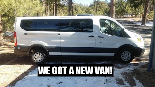 Download Driving Our New Ford Transit 350 XLT Van 1,540 miles in 2 days! Video