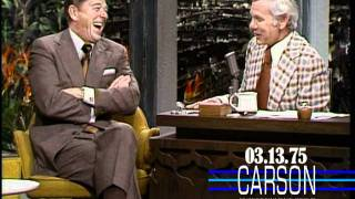 Download Ronald Reagan Talks About Balancing the Budget on Johnny Carson's Tonight Show, 1975 Video