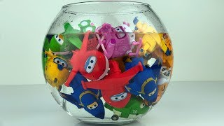 Download Super Wings Toys and Water Tank Video