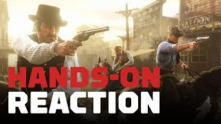 Download Red Dead Redemption 2: Hands-On Reaction Video