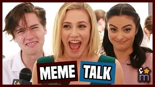 Download RIVERDALE Cast React to Being Memes - Cole Sprouse, Lili Reinhart, Camila Mendes Interview | SO-M Video