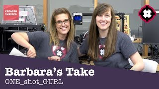 Download Barbara's Take - ONE shot GURL Video