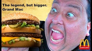 Download McDonald's® GRAND ″MAC DADDY″ Review! Video