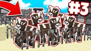 Download MAKING CRAZY COW FARM | Survival Island Pocket Edition #3 (MCPE/Windows 10) Video
