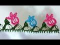 Download Tığ Oyası Yapraklı Lale Yapımı Video