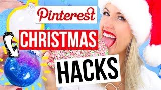 Download Pinterest HACKS Tested    Christmas 2016 Edition!! Video