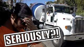 Download 2 CONCRETE TRUCKS HIT 2 CARS AT THE SAME TIME! Video