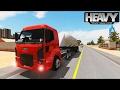 Download Heavy Truck Simulator - Ford Cargo - Carreta Caçamba Carregada De Adubo Video