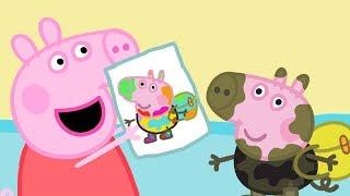 Download Свинка Пеппа на русском все серии подряд | картина | Мультики Video