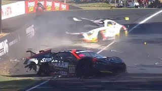 Download 2018 Bathurst 12 Hour - Crash Compilation (Original Sound - No Music) Video