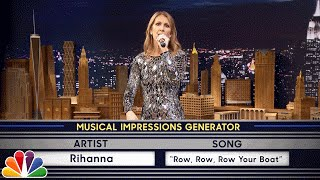 Download Wheel of Musical Impressions with Céline Dion Video